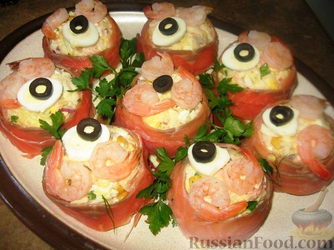 Рецепт Салат-закуска Морской бриз