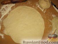Фото приготовления рецепта: Пирог с картошкой и сыром (картофджын) - шаг №12