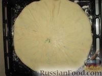 Фото приготовления рецепта: Пирог с картошкой и сыром (картофджын) - шаг №16