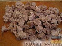 Фото приготовления рецепта: Салат «Обжорка» - шаг №8