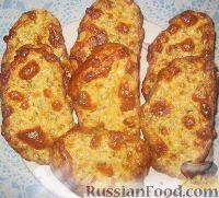 Фото к рецепту: Горячие бутерброды с сыром
