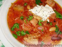 Фото к рецепту: Киевский борщ