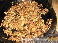 Фото приготовления рецепта: Фаршированная щука с шампиньонами - шаг №3