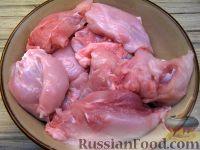 Фото приготовления рецепта: Кролик тушеный - шаг №2