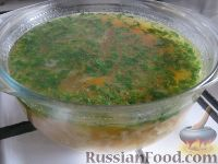 Фото приготовления рецепта: Самый простой суп - шаг №9