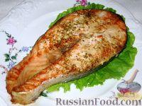 Фото к рецепту: Запеченный лосось