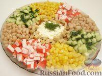 """Фото к рецепту: Салат """"Фуршет"""""""