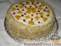 Фото к рецепту: Тыквенный торт