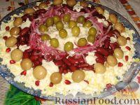 Фото приготовления рецепта: Праздничный салат