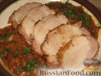 Фото к рецепту: Свинина в медовой глазури