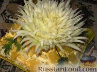 """Фото к рецепту: Салат """"Хризантема"""""""