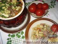 Фото к рецепту: Украинская печеня в горшочке