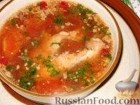 Фото к рецепту: Рыбный суп с клюквой