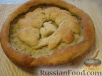 """Фото к рецепту: Картофельный пирог """"Объедение"""""""