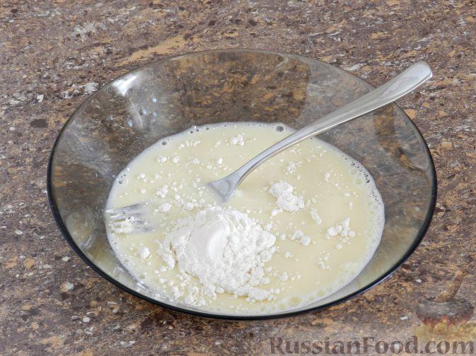 Фото приготовления рецепта: Отбивные из баклажана - шаг №4