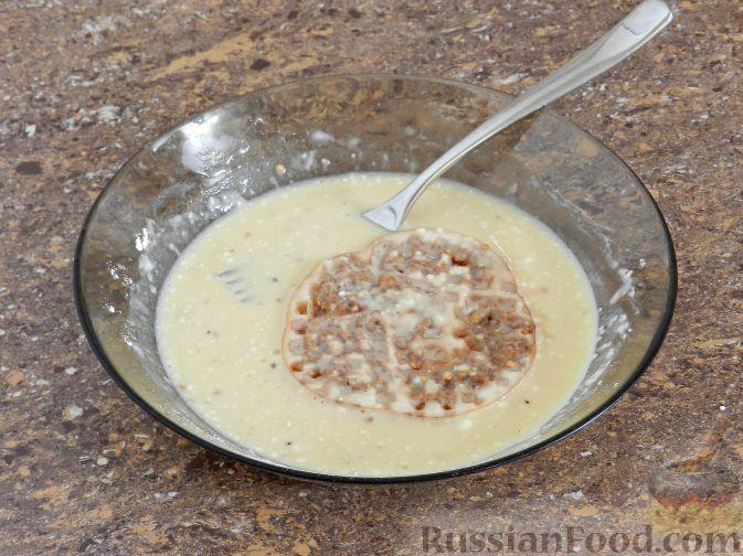 Фото приготовления рецепта: Отбивные из баклажана - шаг №5