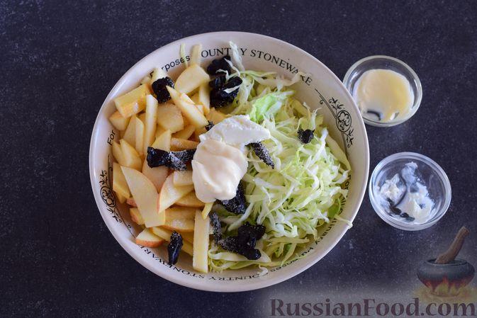Фото приготовления рецепта: Апельсиновый кекс с клюквой и белковой глазурью - шаг №17