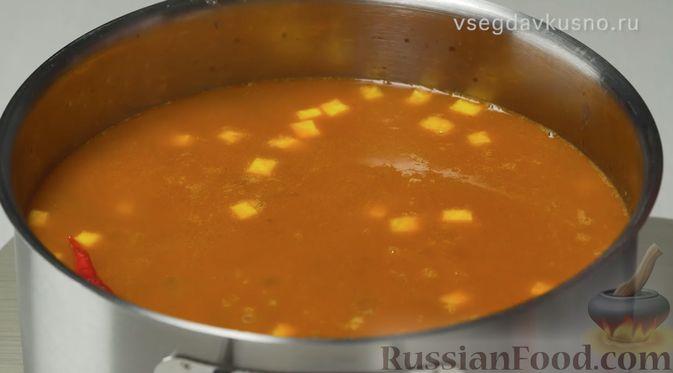Фото приготовления рецепта: Узбекский суп Мастава - шаг №7