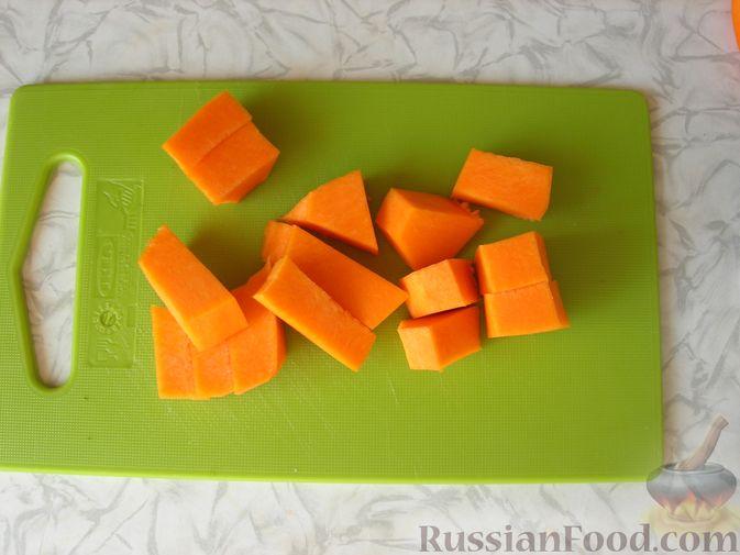 Фото приготовления рецепта: Тыквенное желе с апельсиновым ароматом - шаг №2