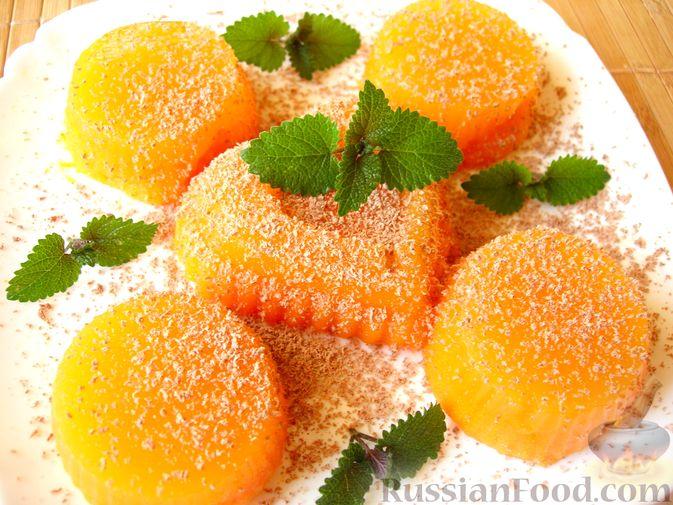 Фото приготовления рецепта: Тыквенное желе с апельсиновым ароматом - шаг №6