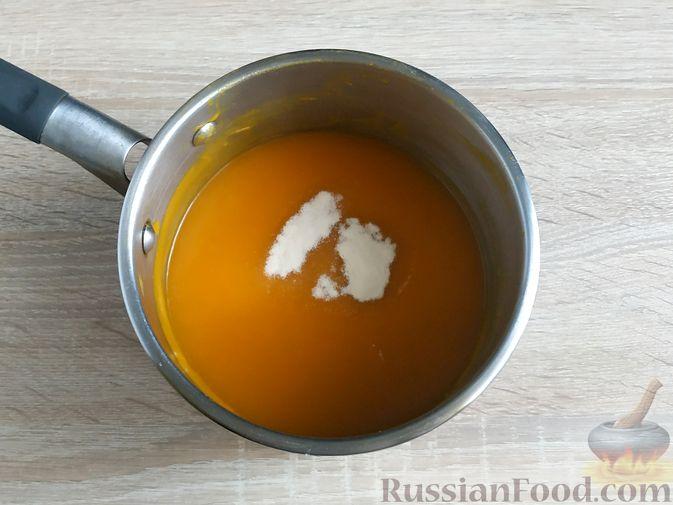 Фото приготовления рецепта: Тыквенный мармелад - шаг №6