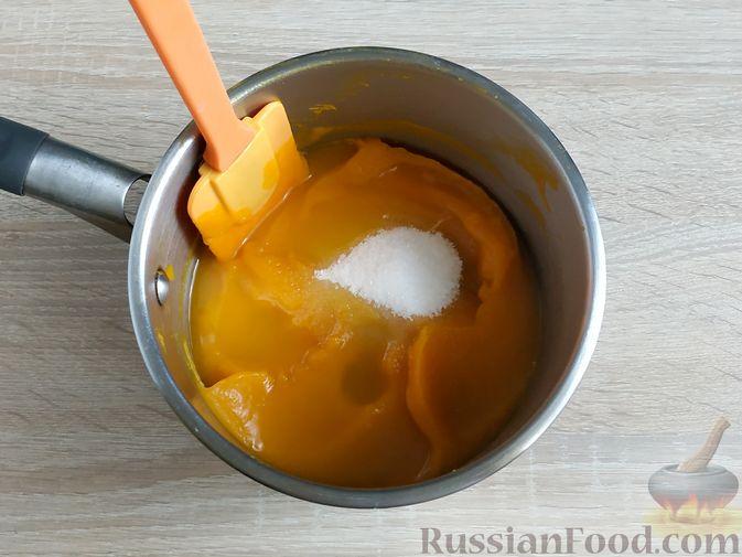 Фото приготовления рецепта: Тыквенный мармелад - шаг №5