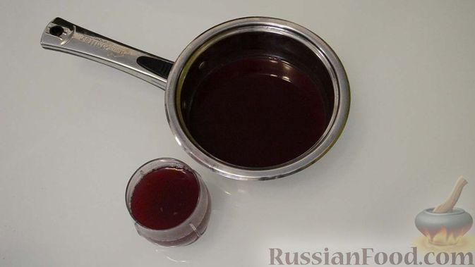 Фото приготовления рецепта: Чурчхела из виноградного сока - шаг №3