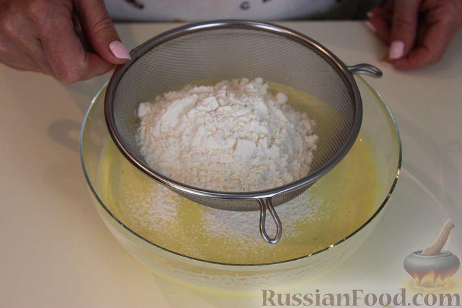 Фото приготовления рецепта: Яблочный тарт с заварным кремом и ореховой корочкой - шаг №2