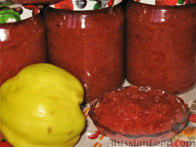 Фото к рецепту: Заготовки из айвы