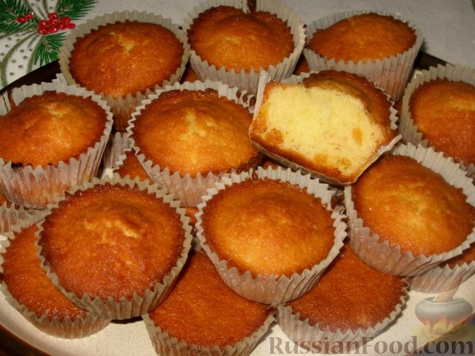 рецепты пирожных с фото