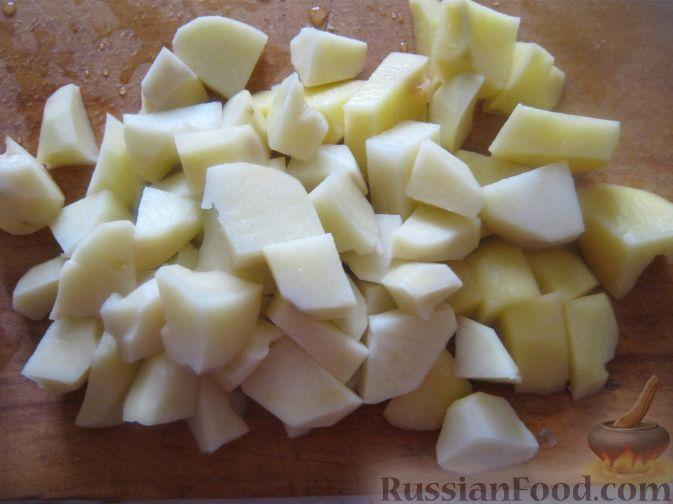 Фото приготовления рецепта: Сытный рисовый суп - шаг №2