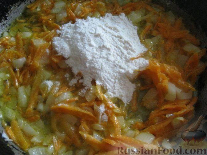 Фото приготовления рецепта: Сытный рисовый суп - шаг №7