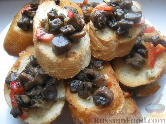 Рецепт Оригинальные бутерброды