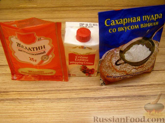 189Рецепт крем из сливок