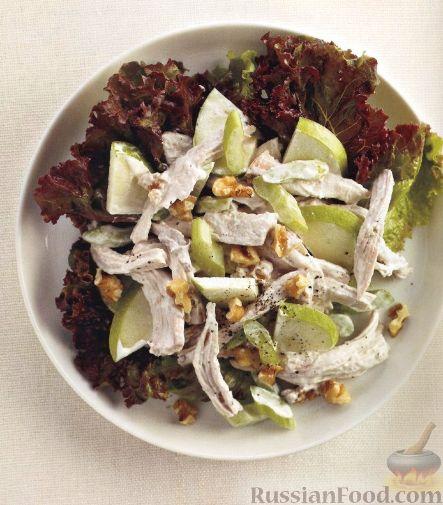 Рецепт Салат из мяса птицы