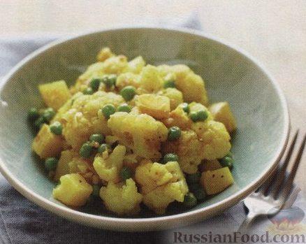 Рецепт Рагу из картофеля и цветной капусты