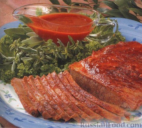 Рецепт Говядина, приготовленная на гриле