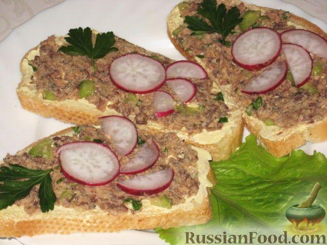 Рецепт Бутерброды аппетитные