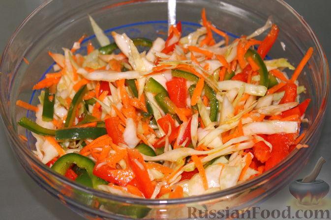Рецепт Капустный салат по-фанагорски