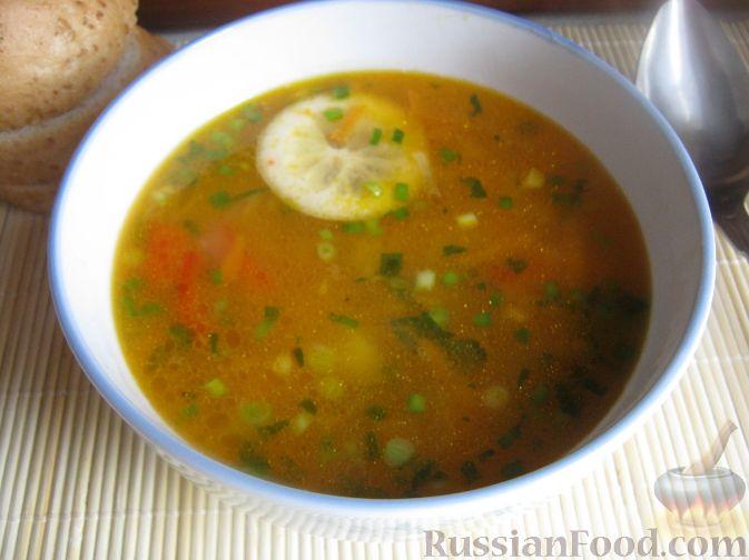 Рецепт Суп из чечевицы с томатом