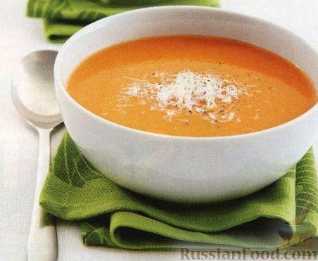 Рецепт Классический овощной суп-пюре