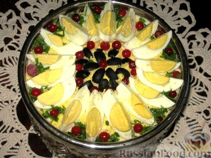 """Рецепт Салат """"Стожары"""""""