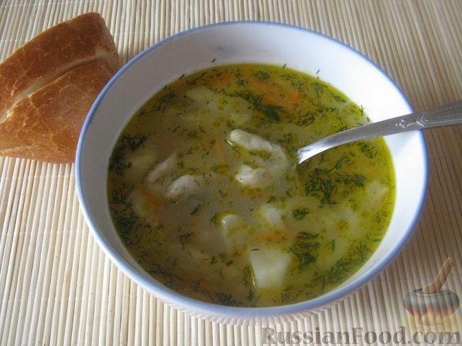 Суп чесночный с галушками