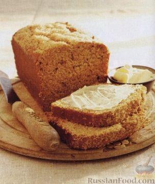 Рецепт Имбирный кекс с медом и тыквой