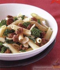 Рецепт Макароны с брокколи и мясом