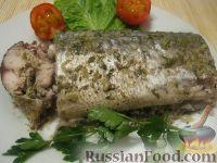 Фото приготовления рецепта: Скумбрия в фольге - шаг №11