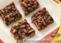 Фото к рецепту: Песочные коржики с шоколадом и орехами