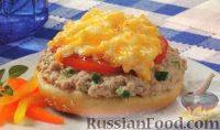 Фото к рецепту: Бутерброды с тунцом