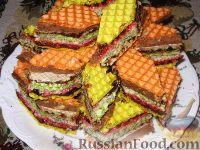 Фото к рецепту: Десертные вафли