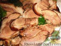 Фото к рецепту: Свиная рулька варено-печеная